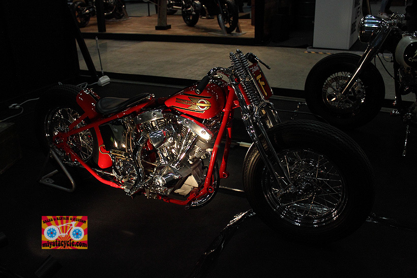 『 26th YOKOHAMA HOT ROD CUSTOM SHOW 』エントリーのモーターサイクル 5_e0126901_15484956.jpg