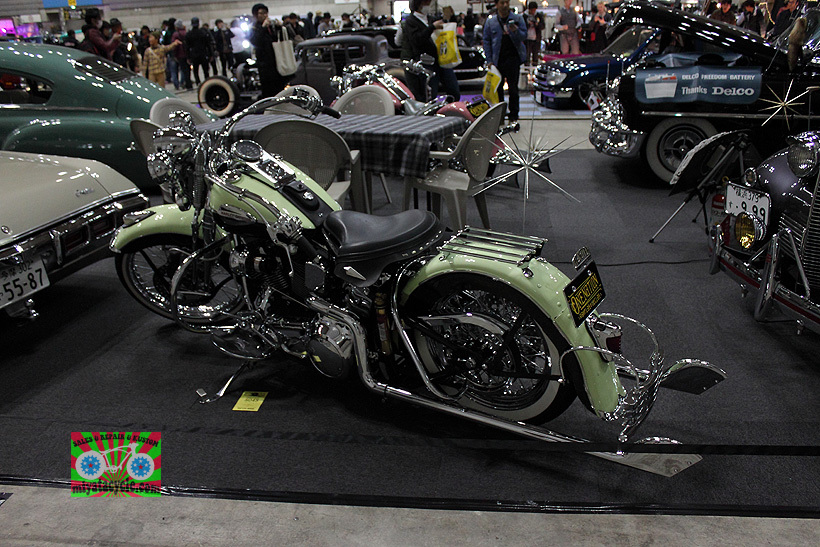 『 26th YOKOHAMA HOT ROD CUSTOM SHOW 』エントリーのモーターサイクル 5_e0126901_15492497.jpg