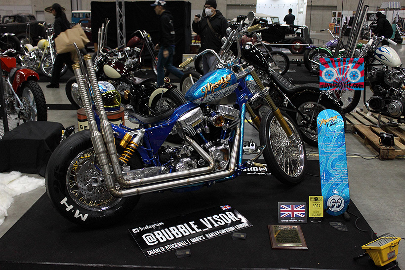 『 26th YOKOHAMA HOT ROD CUSTOM SHOW 』エントリーのモーターサイクル 5_e0126901_15494792.jpg
