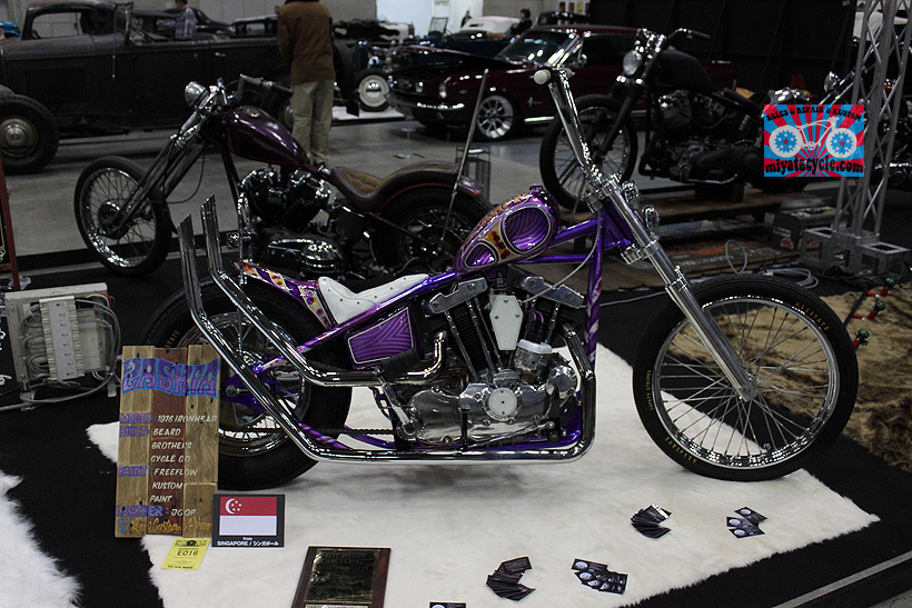 『 26th YOKOHAMA HOT ROD CUSTOM SHOW 』エントリーのモーターサイクル 5_e0126901_15495016.jpg