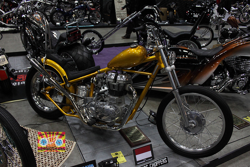 『 26th YOKOHAMA HOT ROD CUSTOM SHOW 』エントリーのモーターサイクル 5_e0126901_15495637.jpg