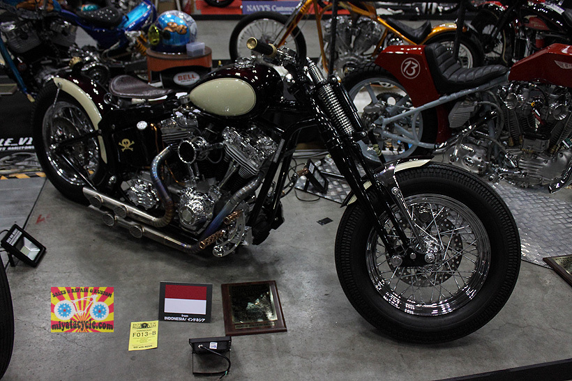 『 26th YOKOHAMA HOT ROD CUSTOM SHOW 』エントリーのモーターサイクル 5_e0126901_15500508.jpg