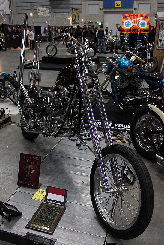 『 26th YOKOHAMA HOT ROD CUSTOM SHOW 』エントリーのモーターサイクル 5_e0126901_15500819.jpg