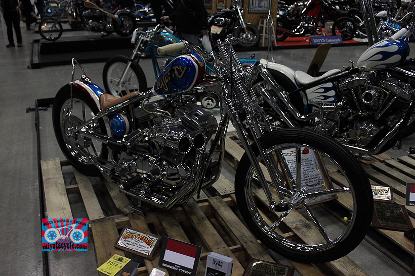 『 26th YOKOHAMA HOT ROD CUSTOM SHOW 』エントリーのモーターサイクル 5_e0126901_15501413.jpg