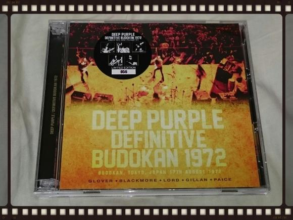 DEEP PURPLE / DEFINITIVE BUDOKAN 1972_b0042308_11543042.jpg