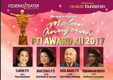 インドネシア演劇協会賞:Anugerah Federasi Teater Indonesia 2017 受賞者リスト_a0054926_19280013.jpg