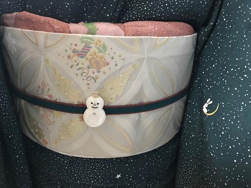 星空に、月兎の小紋+クリスマス帯でエミさんシャンソンへ_f0181251_16585525.jpg