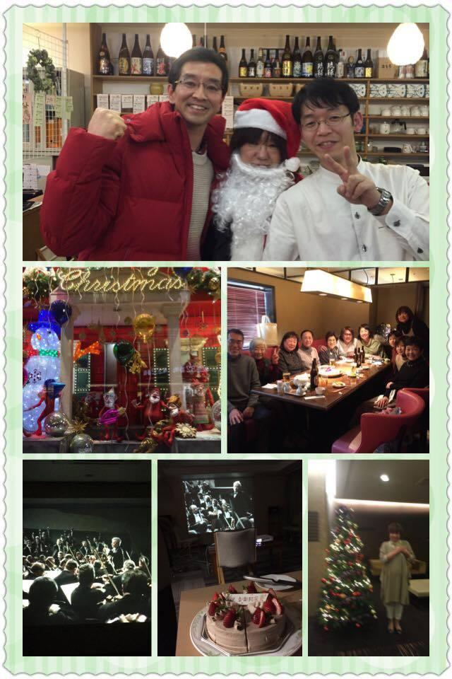 クリスマスと第九            平成29年師走25日_c0099552_10392892.jpg