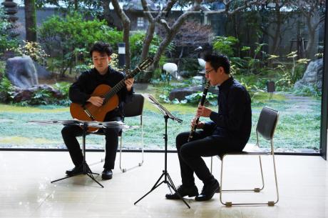 ロビーコンサート アートとともに duo itodo_e0200353_11433467.jpg