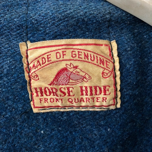 HORSE HIDE Two Tone Color Motor Cycle Jacket_c0146178_14354940.jpg