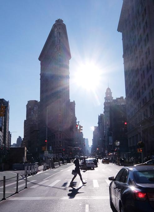 真冬のNY、フラットアイアン・ビルへ向かってお散歩_b0007805_239016.jpg