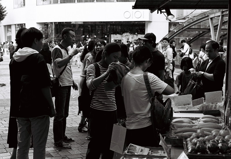 Tourists   ・・・有楽町駅前・・・_f0333031_05111614.jpg