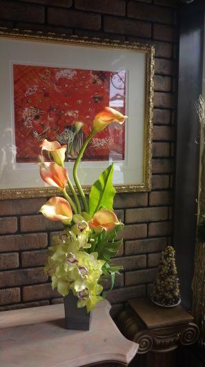 事務所開業祝いのアーティフィシャルアレンジメント_a0123133_00472982.jpg