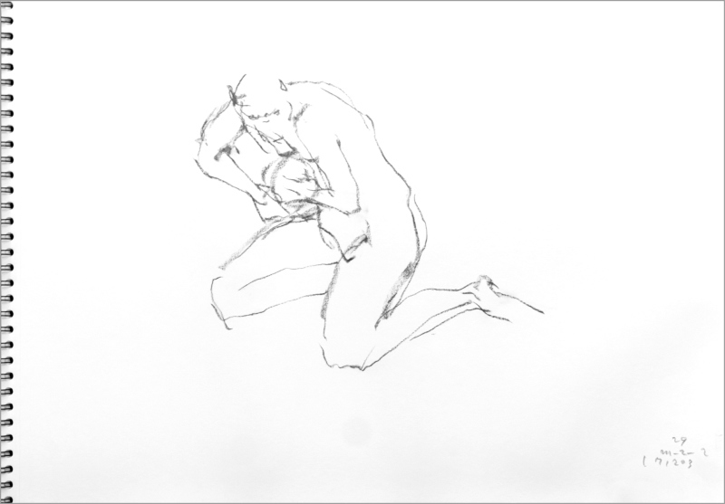 《 師走十二月の ― croquis・drawing・dessin・sketch・esquisse ― 12 》_f0159856_10235574.jpg