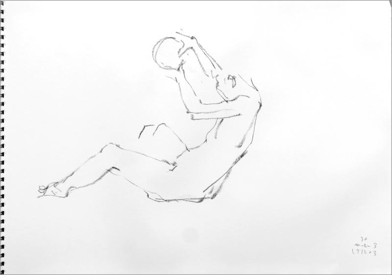 《 師走十二月の ― croquis・drawing・dessin・sketch・esquisse ― 12 》_f0159856_10261981.jpg