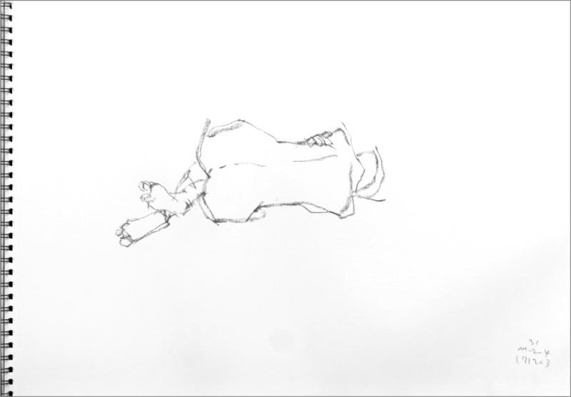 《 師走十二月の ― croquis・drawing・dessin・sketch・esquisse ― 12 》_f0159856_10272875.jpg