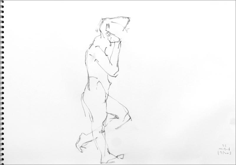 《 師走十二月の ― croquis・drawing・dessin・sketch・esquisse ― 12 》_f0159856_10295148.jpg