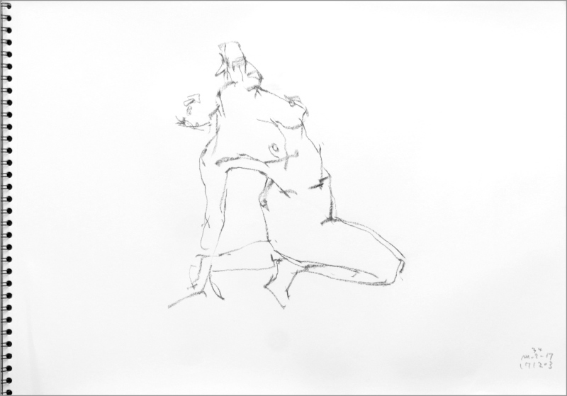 《 師走十二月の ― croquis・drawing・dessin・sketch・esquisse ― 12 》_f0159856_10304583.jpg