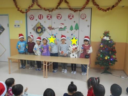 【千葉新田町園】クリスマス会_a0267292_09564206.jpg