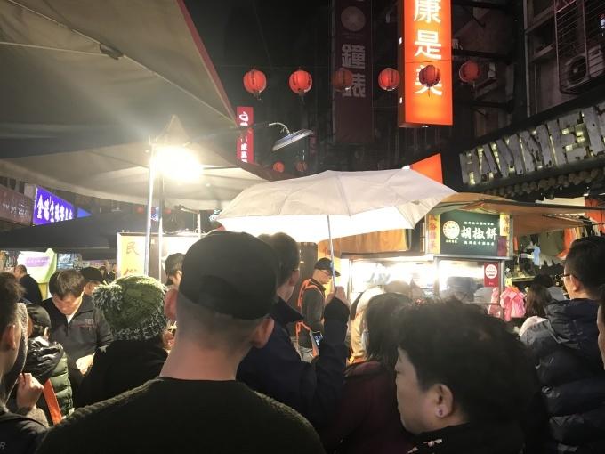 台湾女子旅 台湾夜市でがんがん...