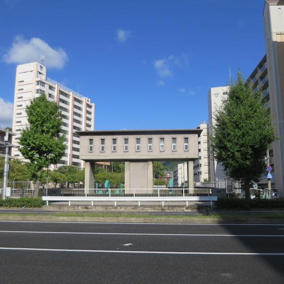 楠住宅と湊川公園駅周辺 神戸市にて_c0001670_09343505.jpg