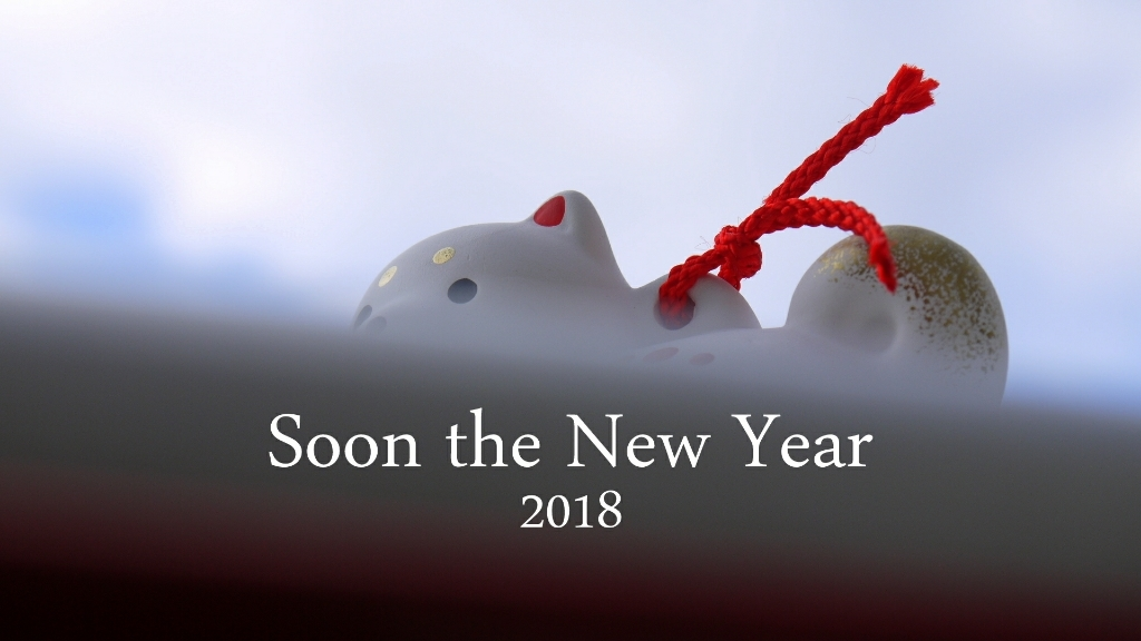 Soon the New Year 2018 ………with 回想録 後編_c0220065_22211585.jpg