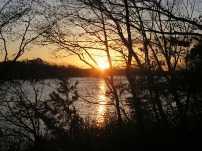 ≪ 愛知池の日の出を拝む ≫_a0357790_21491189.jpg