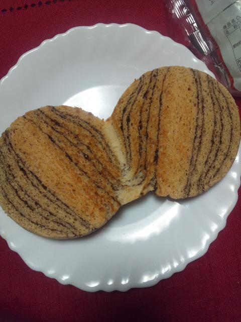 低糖質パン チョコレート_f0076001_23443714.jpg