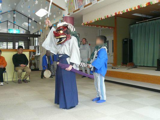1/1 初詣&獅子舞_a0154110_08442720.jpg