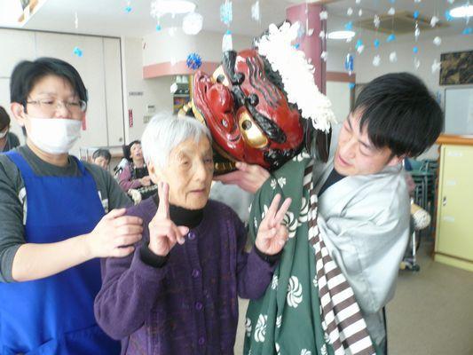 1/1 初詣&獅子舞_a0154110_08443436.jpg