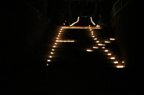 キャンドルIN熊野神社_e0101917_15593325.jpg