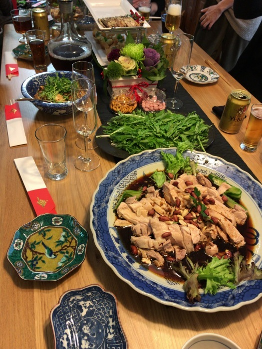 2日の日、義姉の料理が超美味しかったーー!毎度ながらレストラン状態ですぅ~~♪_c0110051_09215488.jpg