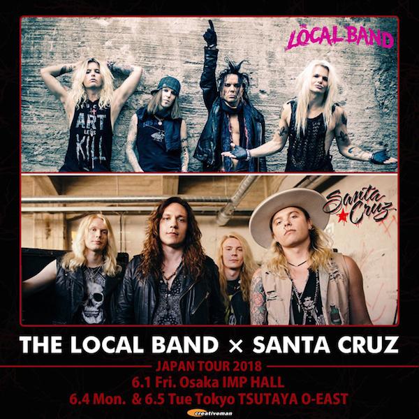 The Local Band × Santa Cruz カップリングツアー決定_b0233987_20310500.jpg