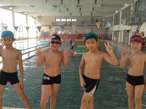 2017年冬の短期水泳教室 水中祭り_b0286596_12012793.jpg