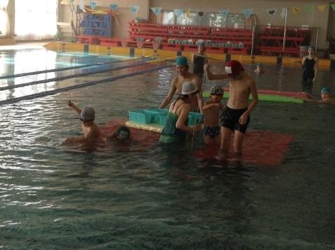 2017年冬の短期水泳教室 水中祭り_b0286596_12022553.jpg