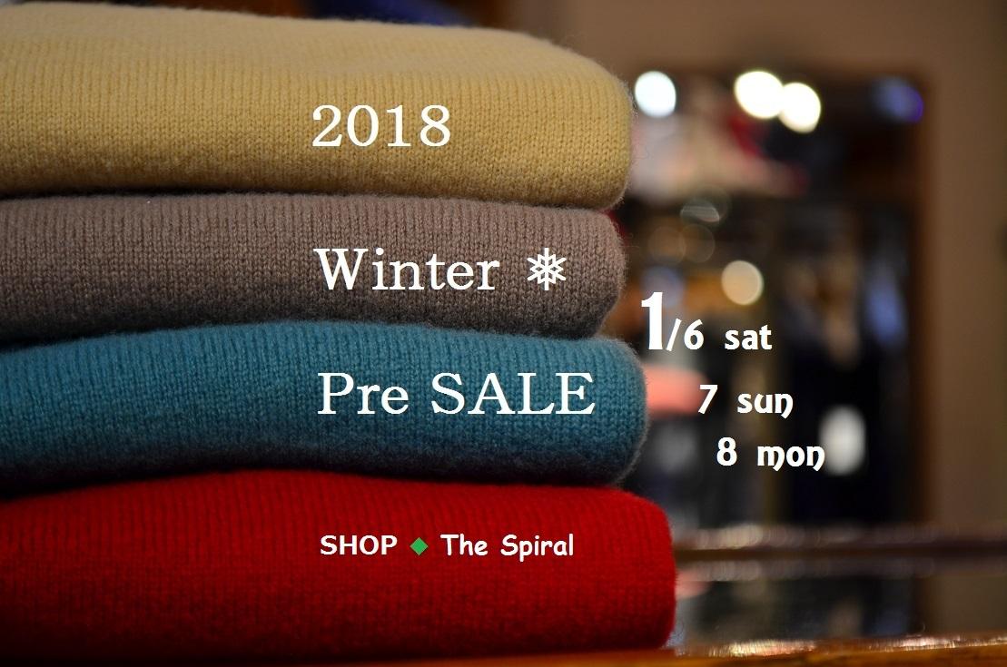 """2018 Winter ❅ Pre SALE!!~明日1/6sat~8monまで...1/5fri\""_d0153941_17121728.jpg"