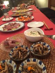 """ハンバーグ""""を囲む食卓         平成29年霜月21日_c0099552_17333498.jpg"""