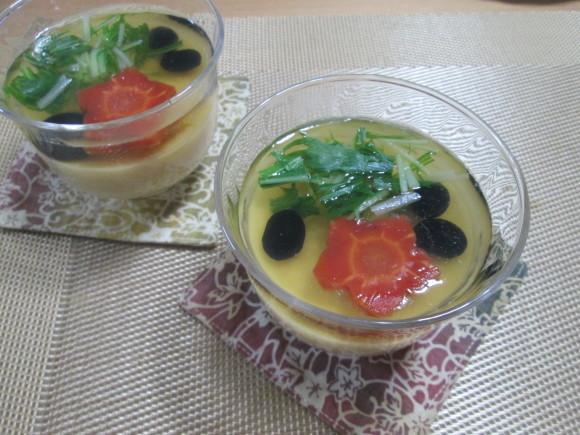 胡麻豆腐と彩り野菜のゼリー寄せ~お正月バージョン~_d0361028_21345483.jpg
