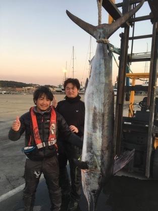 6日銚子沖でマカジキ_f0009039_17570560.jpeg