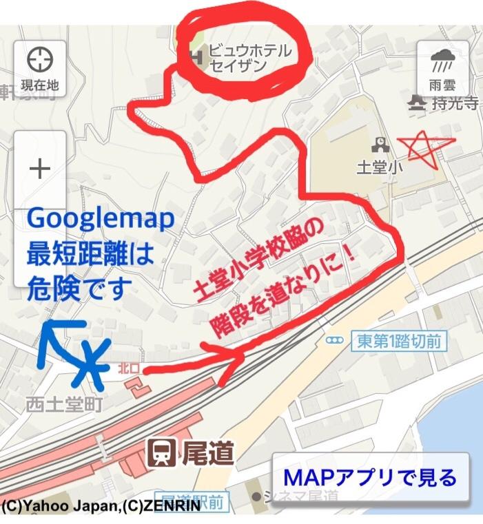 駅から歩いて来る地図_d0144077_14101654.jpg