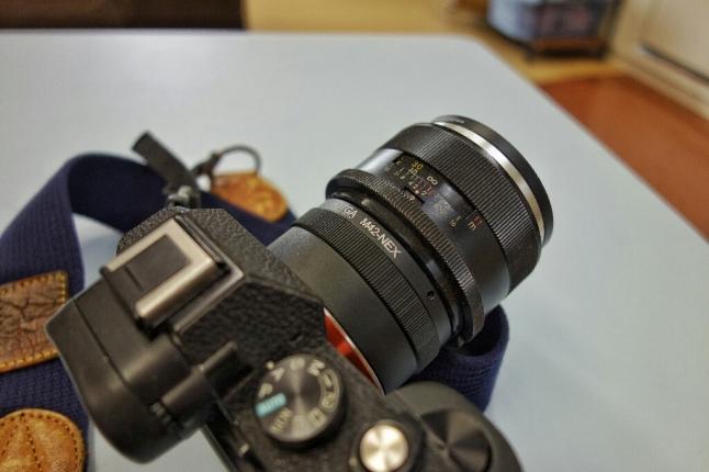 ★今日は、富岡光学製「YASHINON-DX 50mm f1.4」を使ってみよう。_e0291683_11552657.jpg