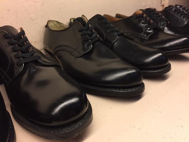 1月10日(水)大阪店ヴィンテージ入荷!#1 U.S.Navy編!NOS ServiceShoes!!(大阪アメ村店)_c0078587_1929254.jpg