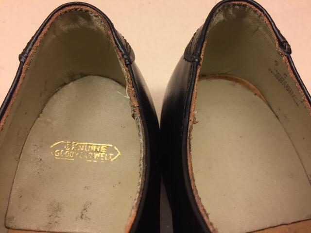 1月10日(水)大阪店ヴィンテージ入荷!#1 U.S.Navy編!NOS ServiceShoes!!(大阪アメ村店)_c0078587_19314296.jpg