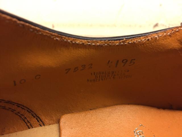 1月10日(水)大阪店ヴィンテージ入荷!#1 U.S.Navy編!NOS ServiceShoes!!(大阪アメ村店)_c0078587_1937445.jpg