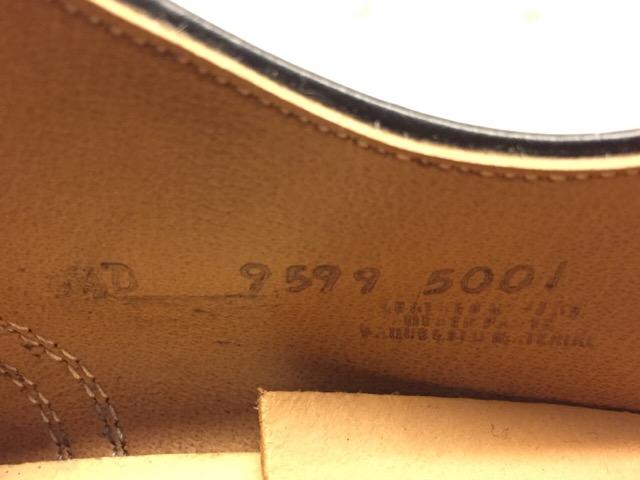 1月10日(水)大阪店ヴィンテージ入荷!#1 U.S.Navy編!NOS ServiceShoes!!(大阪アメ村店)_c0078587_19451871.jpg