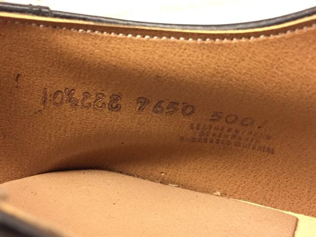 1月10日(水)大阪店ヴィンテージ入荷!#1 U.S.Navy編!NOS ServiceShoes!!(大阪アメ村店)_c0078587_1947678.jpg