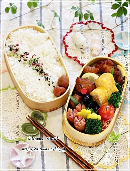 からあげ弁当と作りおきと今夜は七草粥♪_f0348032_18071065.jpg