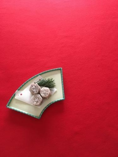 お節料理をリメイク 里芋の雪揚げ_b0048834_09372616.jpg
