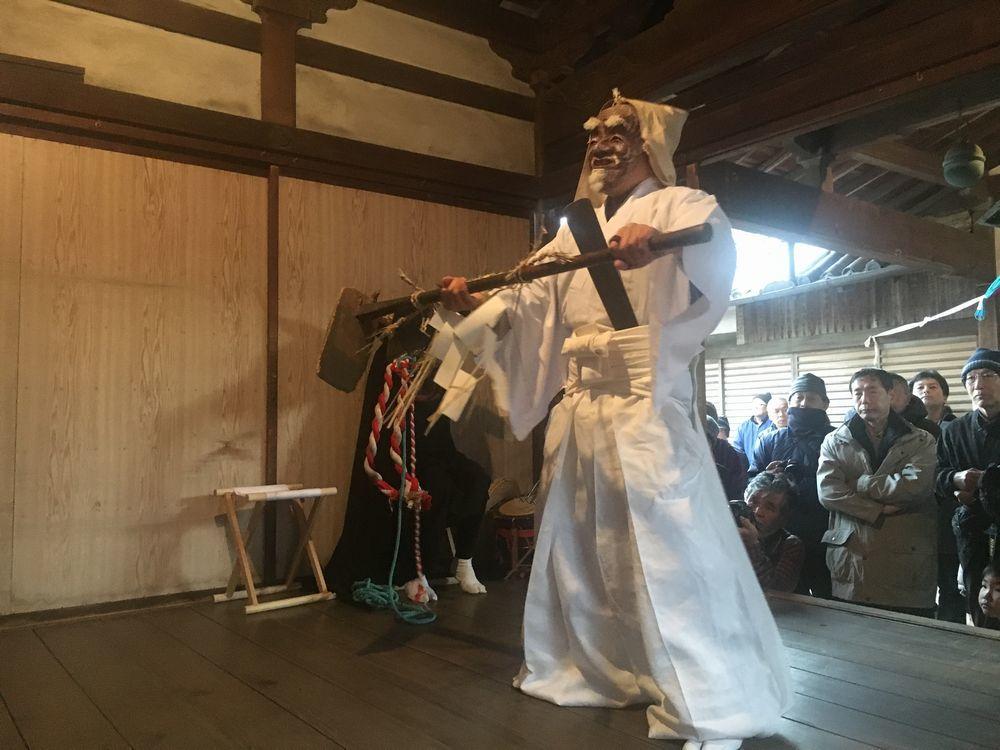 奈良で一番早い  植槻神社(大和郡山市植槻町)のオンダ_a0237937_22254431.jpg