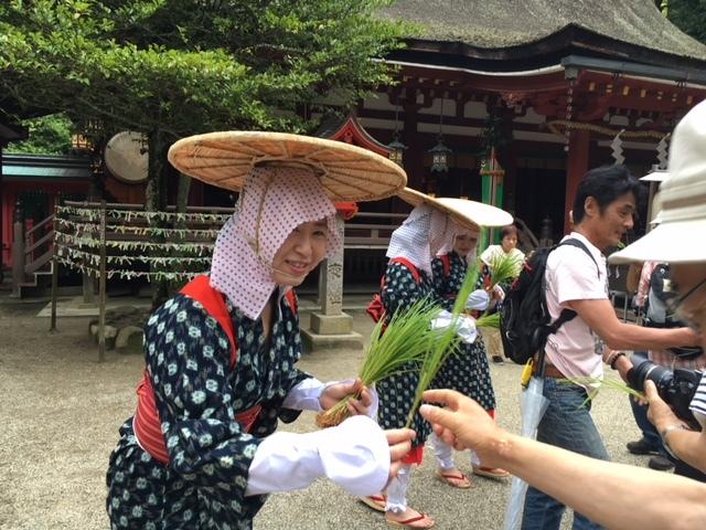 奈良で一番早い  植槻神社(大和郡山市植槻町)のオンダ_a0237937_22363043.jpg